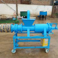 螺旋三相电粪便处理机/固液分离机低含水量方便运输