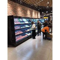 合肥大型超市风幕柜冷鲜展示柜冷藏柜水果柜保鲜柜厂家