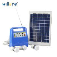 小型家用整套设备太阳能发电系统户外野营夜市手机风扇太阳能发电