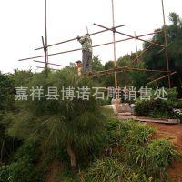 博诺石雕厂出售优质石材雕刻凉亭 长廊