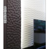 厂家专业定制酒店大厅KTV吧台形象墙背景墙波浪板装饰板