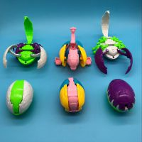 蛋形变形金刚 儿童玩具 亲子互动玩具可拆卸模型 1元店货源小礼品