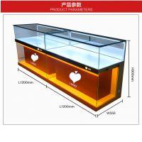 厂家供应珠宝化妆品手机玻璃展示柜台组装节能定制