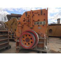 厂家代客户处理闲置二手砂石料生产线设备二合一破碎机