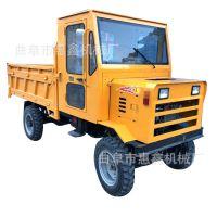 煤矿开采自卸四轮车 拉钢筋用的自卸拖拉机 直销桥梁工程运输车