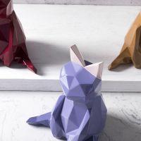现代简约摩登马戏团美丽猫办公桌家居装饰品礼物女生摆件