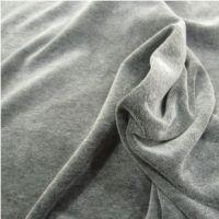 供应新款 全棉天鹅绒面料 涤棉 CVC天鹅绒面料 运动保暖服装面料