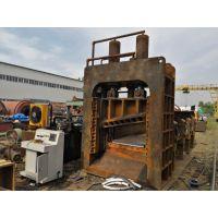 小型龙门剪切机图片威海300吨龙门剪价格双龙门式虎头剪现货