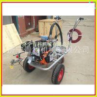 小区车位画线划线机 单枪路面冷喷划线机 手推式划线机