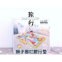 华婴 儿童游戏垫狮子围栏拼装游戏垫单面双面爬行毯婴儿拼图地垫