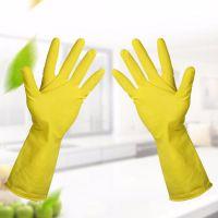 洗碗手套防水橡胶手套 家用洗衣服胶皮 乳胶厨房防污耐用清洁家务