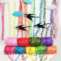 幼儿园教室装饰用品 吊饰叶藤绳子仿真花藤条挂饰手工花环藤叶绳
