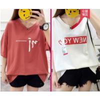 昆明便宜女装短袖几块钱服装纯棉T恤3元T恤清货韩版时尚服装亏本处理
