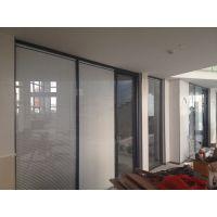 福田办公室双层玻璃隔断墙价格