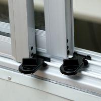 窗锁塑钢铝合金窗户锁平移窗锁扣儿童安全防护防盗推拉门窗免安装