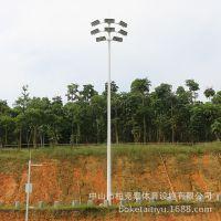 云南小学球场灯杆高度 体育场馆灯光照明 防水灯杆价格怎么样