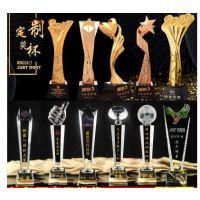 西安水晶生产厂家,专业定做内雕摆件 水晶奖牌定做