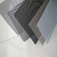 不锈钢金刚网哪有 纱窗防盗网黑色灰色 隐形防护安全窗纱密目结实网