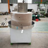 河北40型电动豆浆石磨机 优质耐用豆腐坊石磨磨浆机