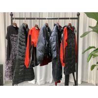 璞秀 2019冬装品牌折扣女装批发走份货源进货渠道分份 外套羽绒服