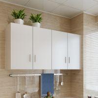 挂柜子吊柜悬挂家用风格壁挂纯色挂墙式壁柜酒挂厨橱柜木墙柜