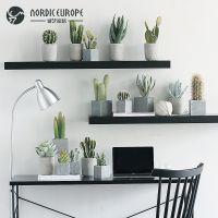 JSHCY创意北欧家居装饰品多肉仙人掌仿真植物盆栽摆件假花绿植室