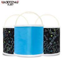鱼桶钓鱼桶护鱼桶养鱼水桶加厚折叠防水钓鱼桶便携式户外伸缩桶
