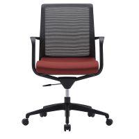 供应深圳众晟家具ZS-MT01M高档布艺办公电脑职员椅