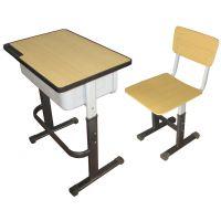 学生课桌椅款式有多种 单人课桌椅 双人课桌椅 合肥送货安装