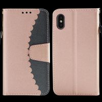 Iphone6手机壳 6S 7 8 Iphone6puls Iphone X 钱包款拼接手机套