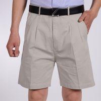 夏装加大码西装短裤中年父亲节男式50岁休闲中老年五分裤沙滩裤男