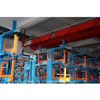 洛阳管材货架 型材存放架 伸缩自动存取架 重型悬臂货架