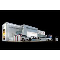 台冠伟业展位搭建案例 展台3D模型图 广州五金建材展览会