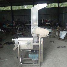水果蔬菜不锈钢破碎粉碎机 小型果蔬螺旋式榨汁机源头厂家
