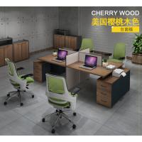合肥 办公桌 办公家具 高柜四人位组合桌 隔断办公桌 简约电脑桌定做