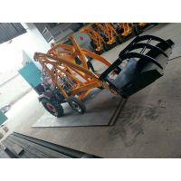 厂家供应轮胎式装载机 小铲车抓木机抓草机