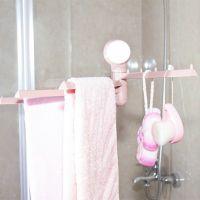 毛巾架粘贴旋转毛巾架厨房抹布架卫生间免打孔挂架毛巾架子毛巾杆