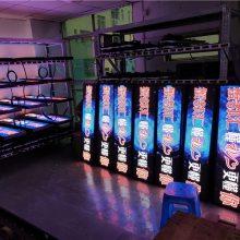 P6全彩后窗LED显示屏、P6彩色LED后窗广告屏