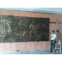 广西玻璃钢仿铜浮雕 校园文化墙浮雕定制