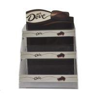 德芙巧克力桌面陈列架 塑胶陈列展示架 陈列堆头 零食货架
