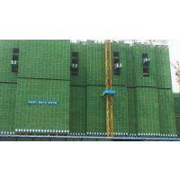 工地脚手架安全防护网 建筑全钢爬架网的概况 圆孔安全网