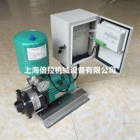 威乐变频泵MHIL406-3/10/E/1-220-50-2家用全自动增压泵 大口径水泵