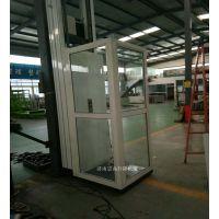 忻州人货两用小型升降机-样式齐全-安全可靠带扶手-崇高制造