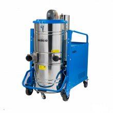 河南郑州工厂车间用380V干湿两用工业粉尘吸尘器
