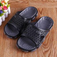 夏季男式室内凉拖浴室居家拖鞋超轻EVA凉鞋厚底防滑沙滩鞋批发