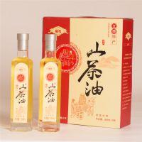 江西特产福伦山茶油500ml×2瓶装低温压榨一级食用山茶籽油月子油中秋节礼品