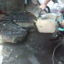 电动切煤机 煤块切割机报价 电动金刚石切煤机安源直销