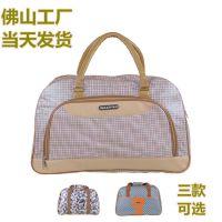 厂家现货新款潮手提旅行包 行李包袋男女超大容量旅行袋 PU健身包