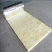 河北玻璃棉纤维卷毡 离心玻璃棉保温毡价格
