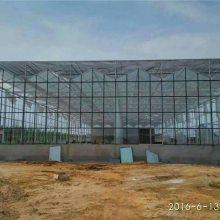 金盟玻璃温室 尖顶保温玻璃大棚